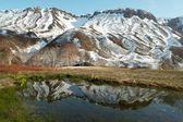 Gejzíry, sopka间歇泉、 火山