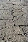 Vecchia strada asfaltata