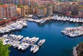 Marina na monte carlo v Monaku