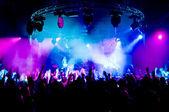 Ballando al concerto, laser show e musica