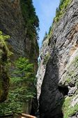 Keskeny liechtenstein canyon-Alpokban