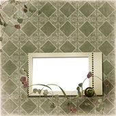 Viktorianischen Hintergrund mit Stempel-frames