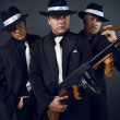 Постер, плакат: Three gangsters