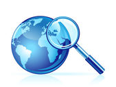 Global search vector icon