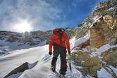 Winter-Klettern