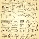 thumbnail of Doodles set for web site design