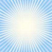Blue radiant background