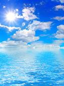 Nebe a voda