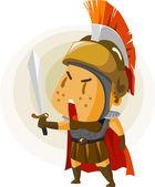 Klasické římské bojovník