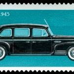 Постер, плакат: Vintage postage stamp Car ZIS 110
