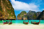 Tropical beach, Maya Bay, Thailand