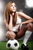 Sexy fotbalistou