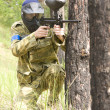 Постер, плакат: Paintball shooter