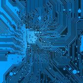 Modré elektronické pozadí textury