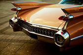 Back of vintage car