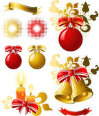 Weihnachts-Design-Elemente