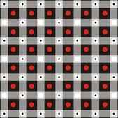 Background with black squares and red circles