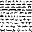 thumbnail of Transportation silhouettes