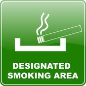 prostor pro kuřáky znamení
