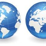 Постер, плакат: Globes of Earth