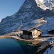 thumbnail of Eiger and small lake
