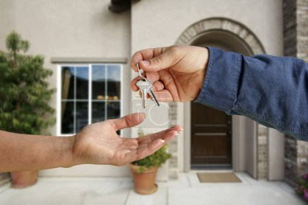 Handing Over the House Keys and Home