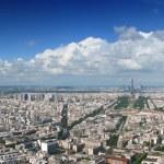 thumbnail of Paris aerial cloudscape panorama