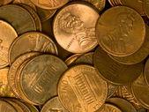 Hromadu Spojených států mince měděná haléře
