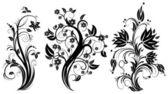 Stylizované květinové strom