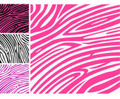 Pink zebra background pattern - perfect texture for your unique design!
