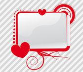 Vector of a screen in a love context