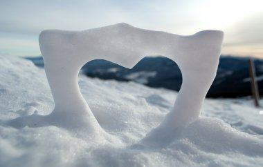 "Картина, постер, плакат, фотообои ""любовь снега"", артикул 2068322"