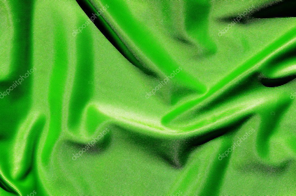 Elegant and soft green satin background