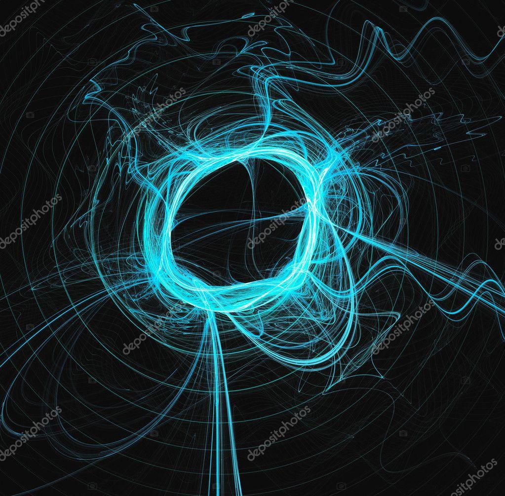 Blue web fractal