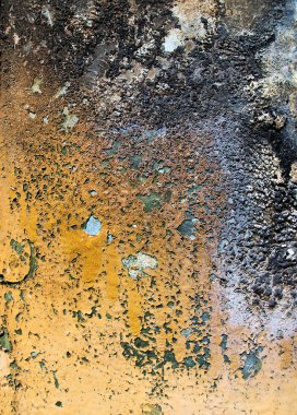 Weathered metal surface