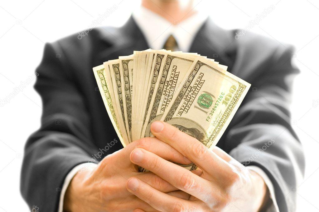 Resultado de imagen para dinero en mano