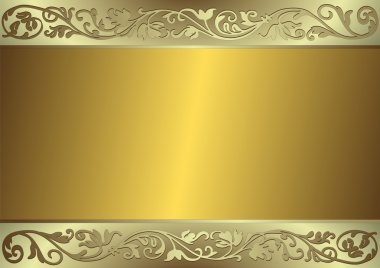 Gentle golden and silvery background