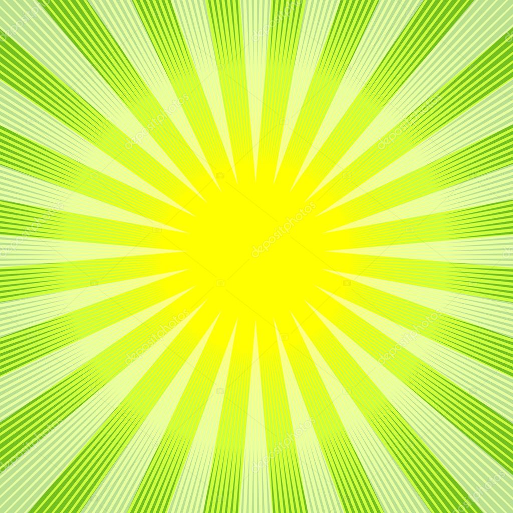 Abstract green-yellow background — Stock Vector
