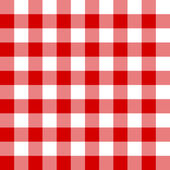 Photo Seamless red and white cell pattern
