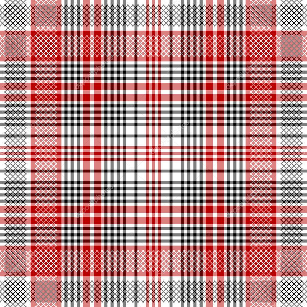 Checkered Design Seamless Checkered Pattern Stock Vector Ac Olgadrozd 2553794