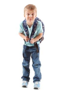 Primary grade pupil