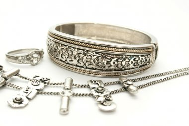 Bracelet,ring and necklace