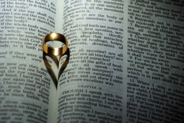 Ring on Bible