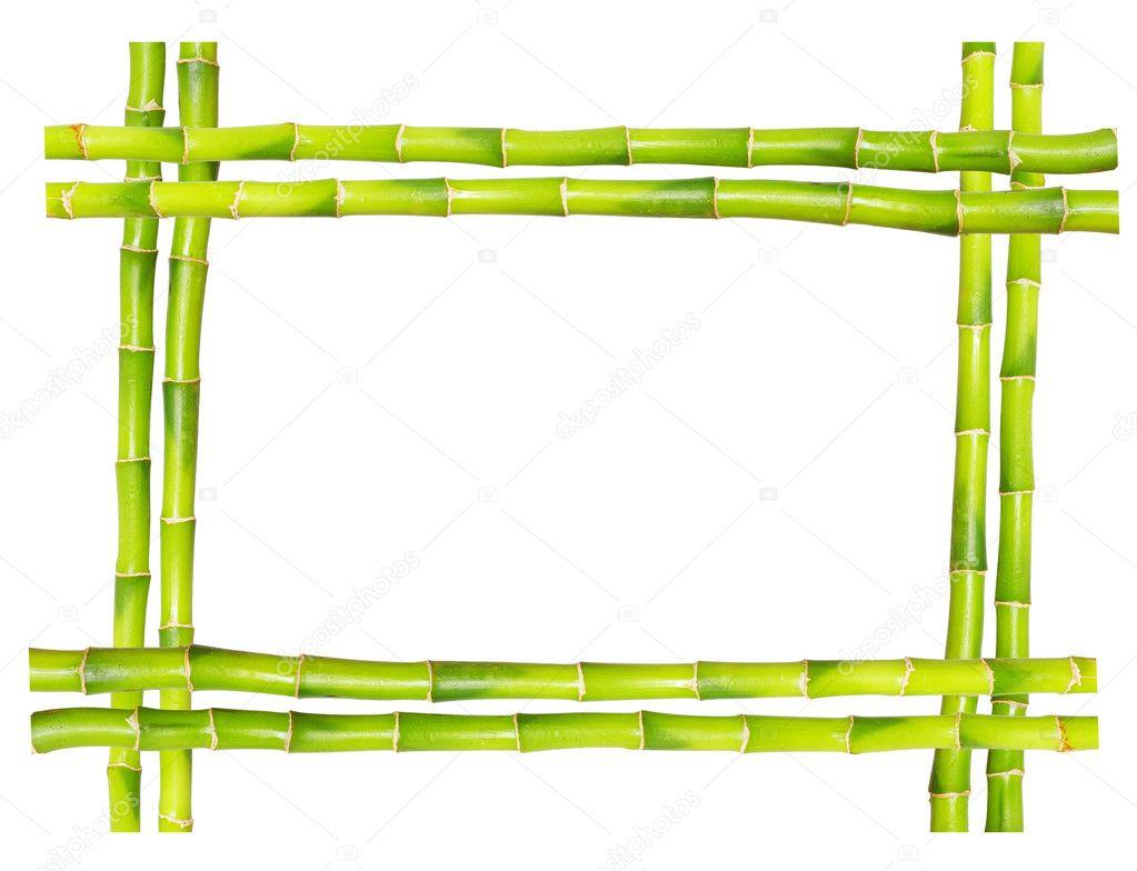 Bambus-Rahmen — Stockfoto © Pakhnyushchyy #1623064