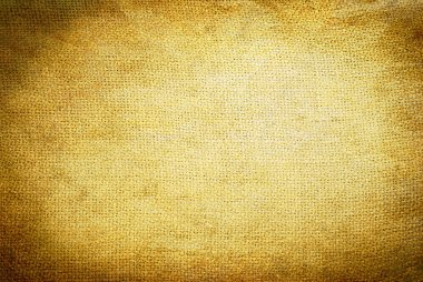 Background of sack