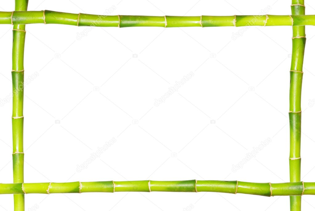 Bambus-Rahmen — Stockfoto © Pakhnyushchyy #1702215