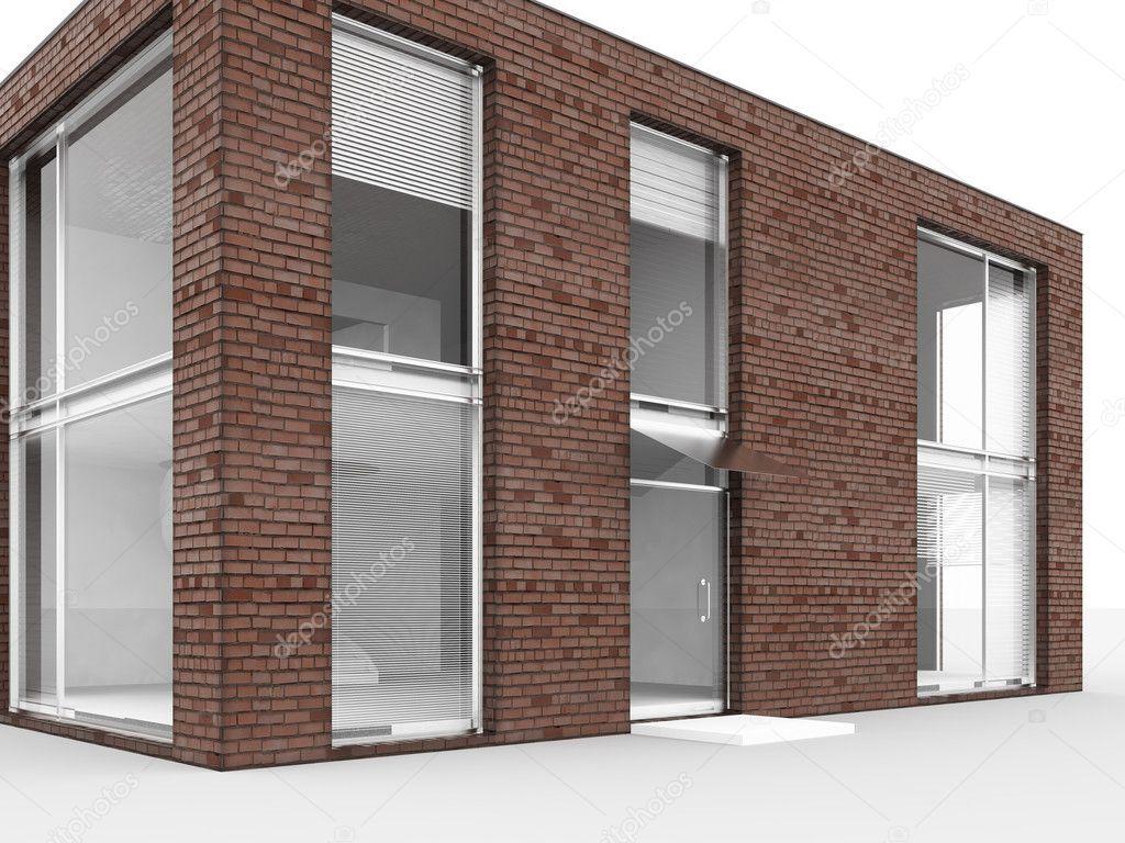 Modernes Haus Isolieren Stockfoto C Evgenb 1546014