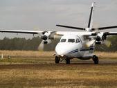 letadlo na pojezdové