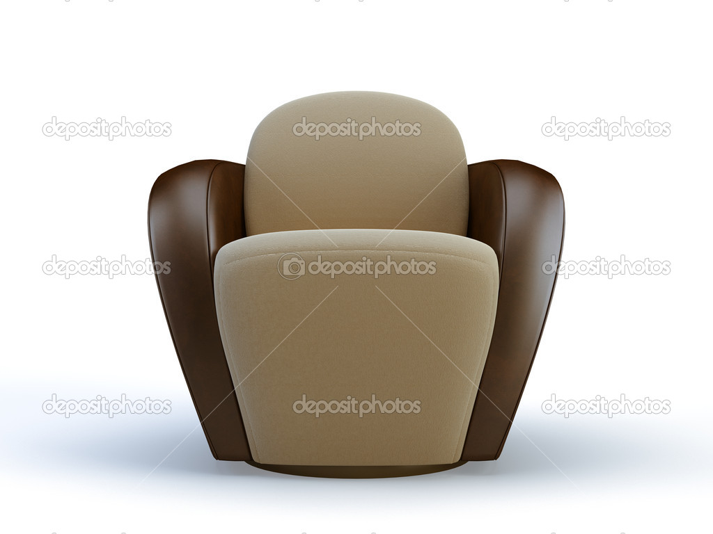 Elegante Silla Foto De Stock 3dimentii 2197305 # Muebles Postmodernos