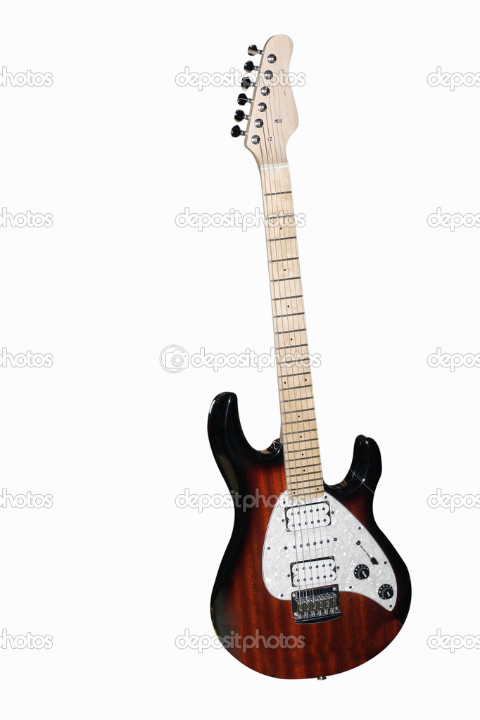 eine e-Gitarre — Stockfoto © uatp12 #1038143